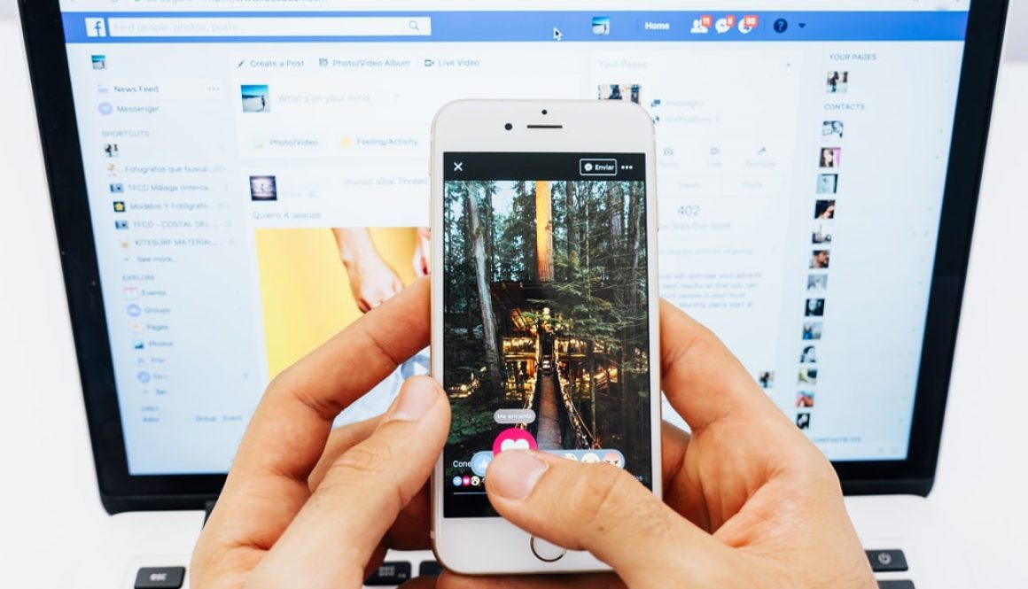 Facebook Ads and Facebook Posts rapidpage